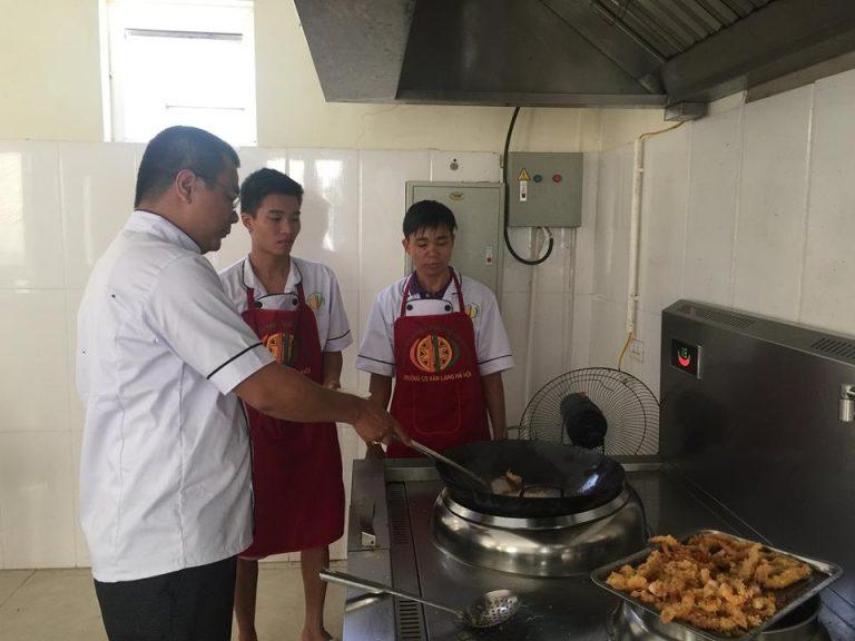 Học nấu ăn tại Hải Phòng